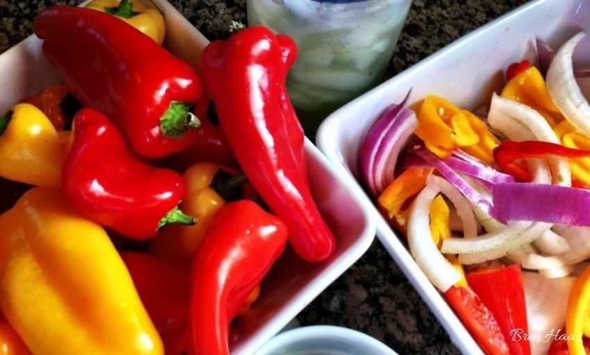 Fresh Vegetables for the recipe