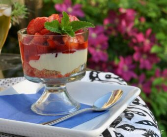 strawberry goat cheese recipe