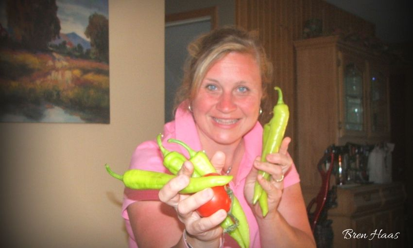Bren and Her Peppers