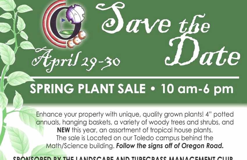 Plant Sale Ad From Owens