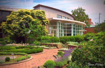 Front Enterance at Cleveland Botanical Garden