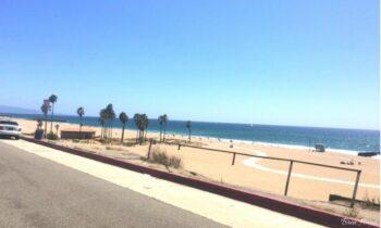 Driving Along The Beach in LA