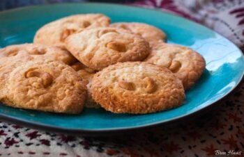 Chewy Macadamia Nut Cookies Recipe