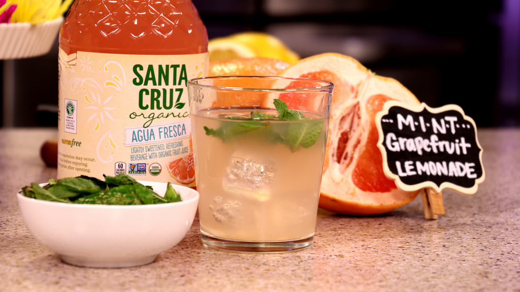 Mint Grapefruit Lemonade Recipe