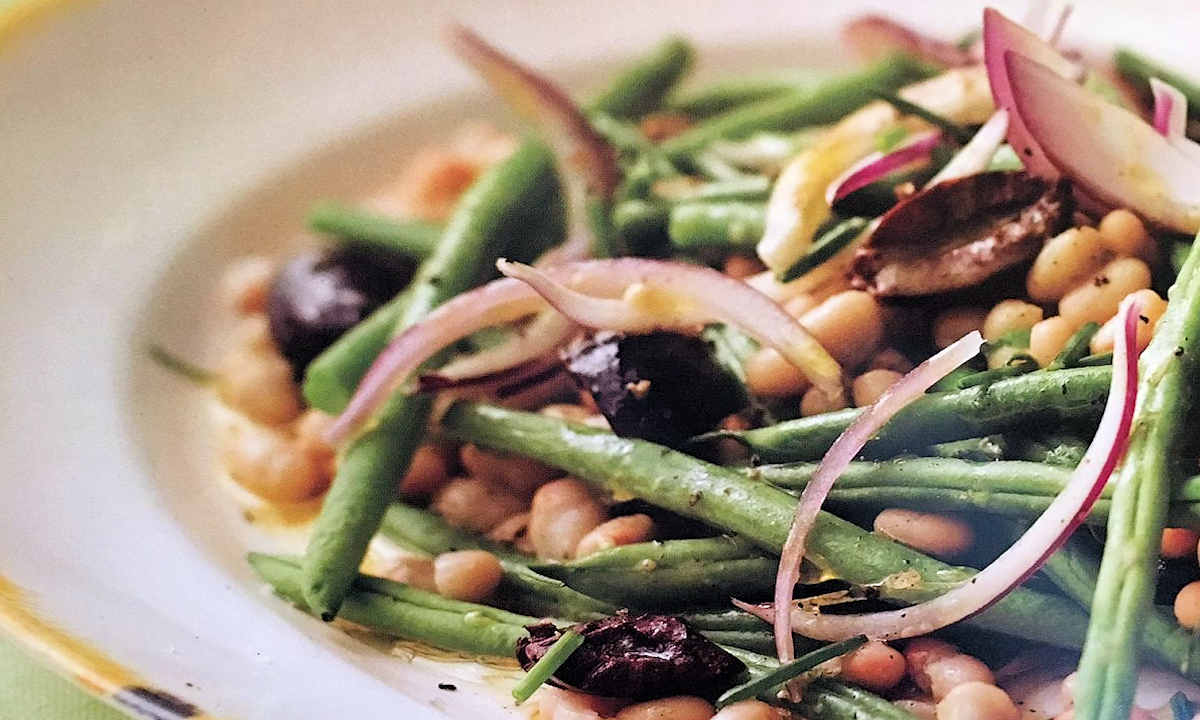 cannellini and green bean salad