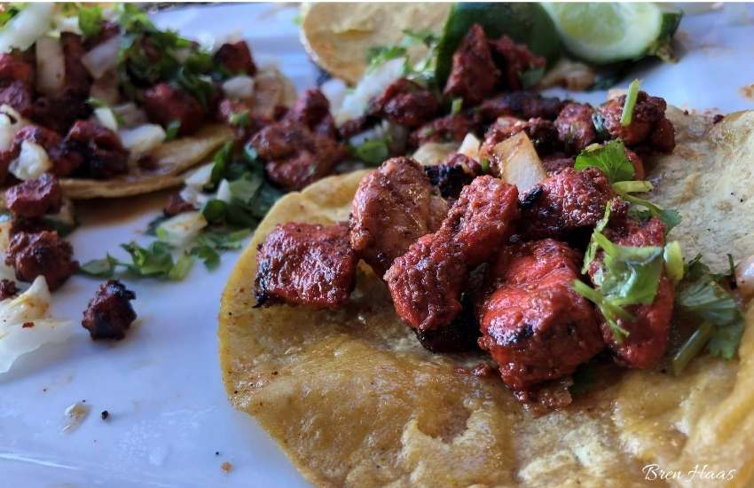 flank steak street tacos