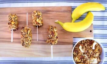 Granola Banana Treat Recipe