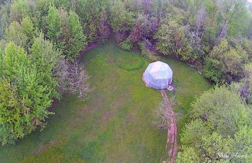 NOVATEK CAMERA of the dome garden