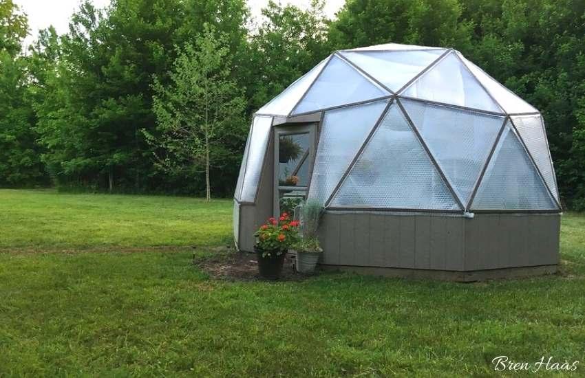 20' Geodesic bio dome