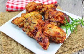 Jamaican jerk BBQ wings