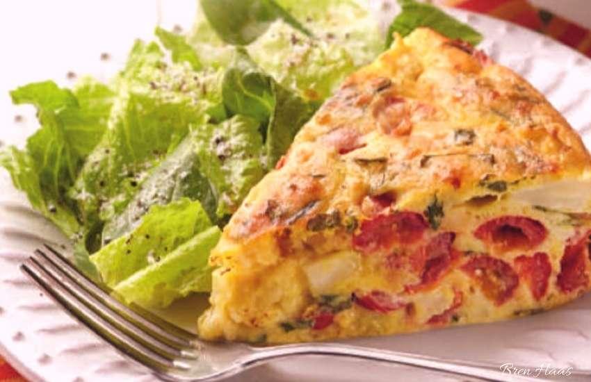 Grape Tomato and Cauliflower Cake Recipe For Anti-Inflammatory Diet
