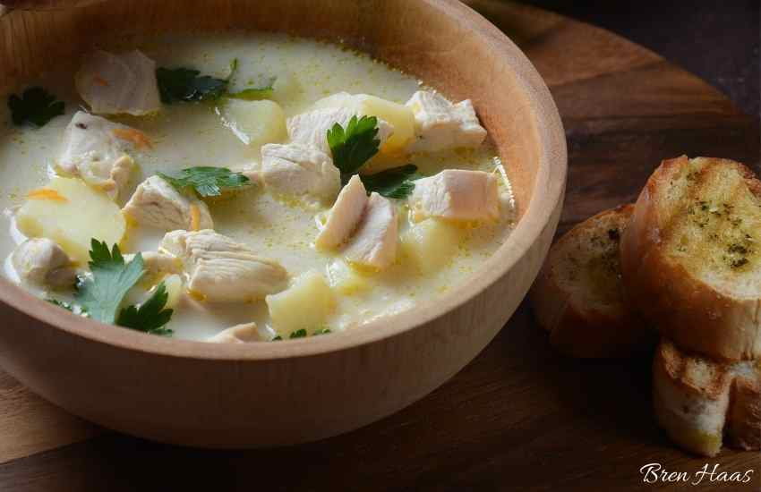 Spicy Anaheim Pepper Cream of Chicken Soup Recipe