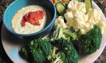 Veggies and Salsa Dip Recipe