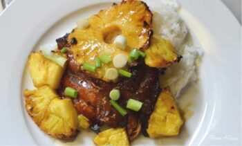 Grilled Pineapple and Chicken Recipe