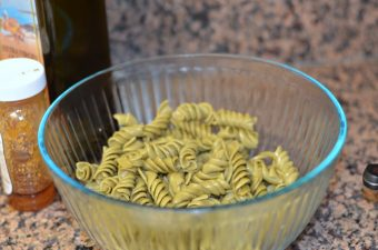 Summer Fresh Herbs and Vegetable Rotini Salad Recipe