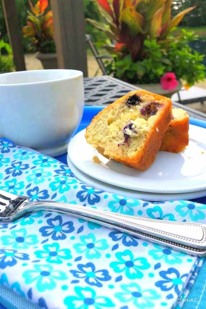 creative blueberry and lemon bread