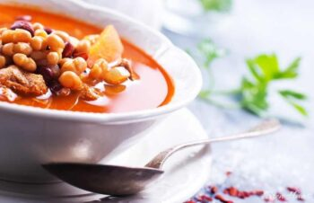 bean soup with corona beans