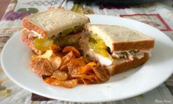 The perfect turkey sandwich