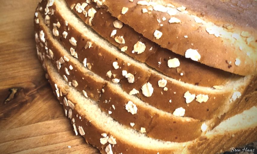 healthy seed whole flour bread