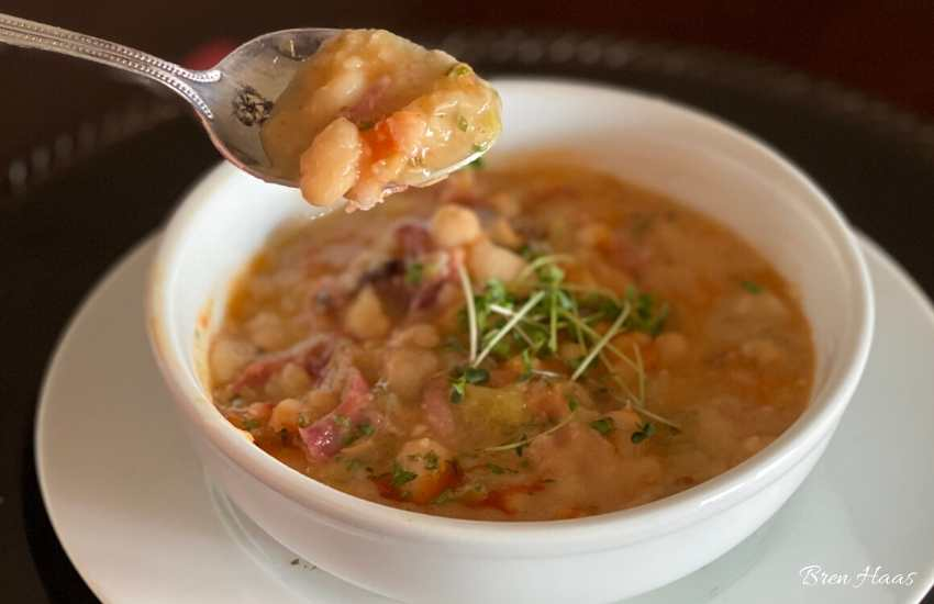 Great Northern Bean Soup with Ham Recipe