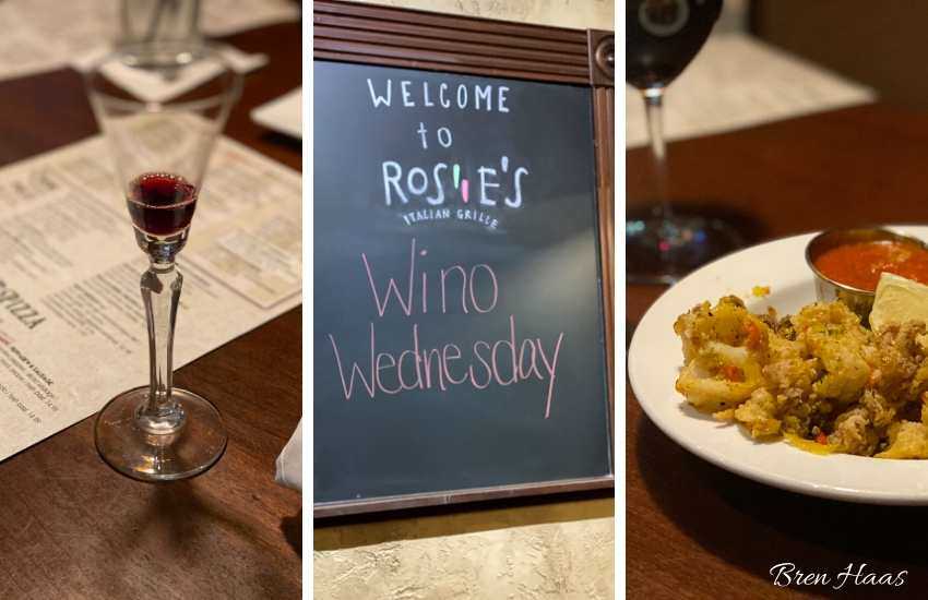 Wine Wednesday at Rosies