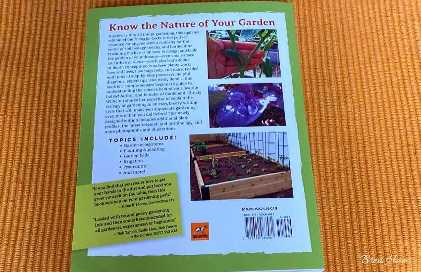 review of the gardening for geeks book