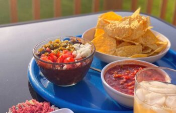 Black Bean Bandit Dip as Appetizer