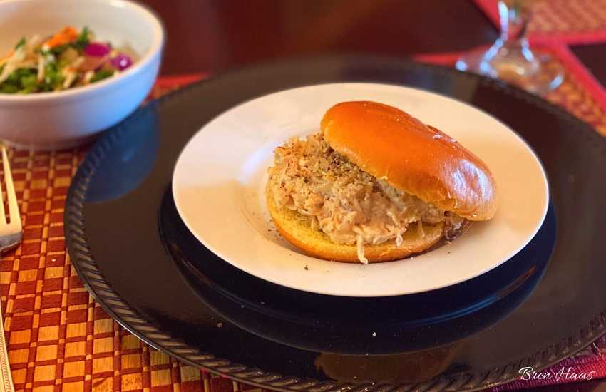 Shredded Chicken Sandwich Recipe