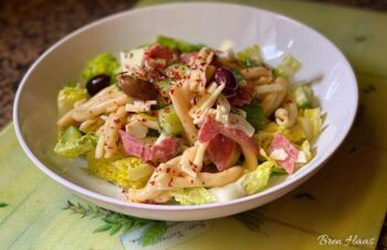 casarecce pasta in cool salad bowl recipe