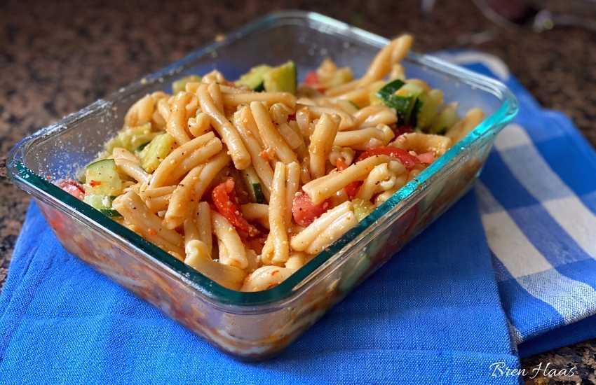 Italian Pasta Cold Dish for Picnic