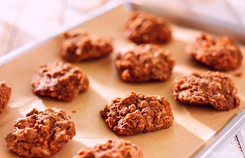 No Bake Peanut Butter Chocolate Cookie Recipe