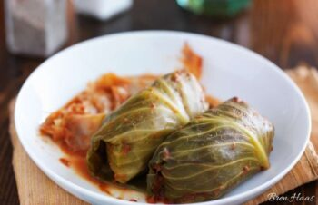 cabbage rolls for dinner