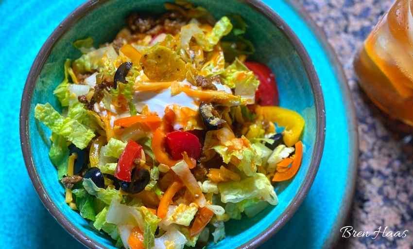 Taco Salad Single Serving