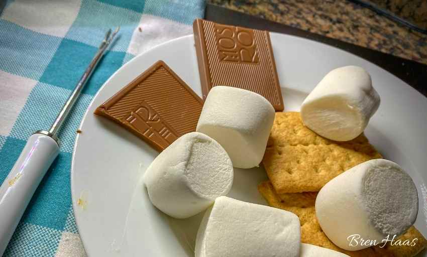 Fresh Ingredients for S'mores