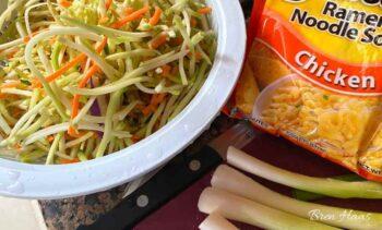 broccoli slaw ramen noodle salad recipe